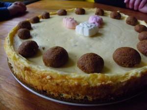 glutenvrije sinterklaascheesecake