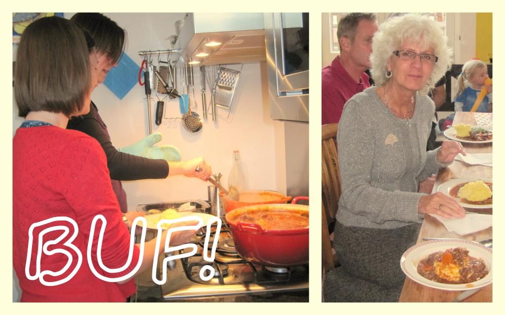 Buf op de verjaardag van glutenvrije oma.