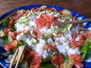 Sushi salade (1)