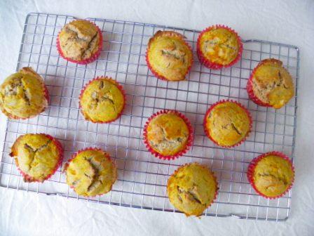 glutenvrije pompoen cupcakes