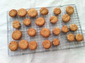 glutenvrije mini cupcake