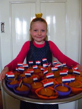 Glutenvrije oranje cupcake met wortelglazuur2