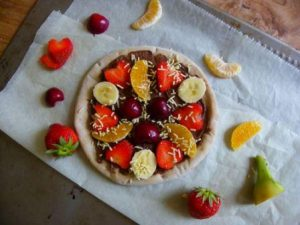 Chocolade pizza (2)