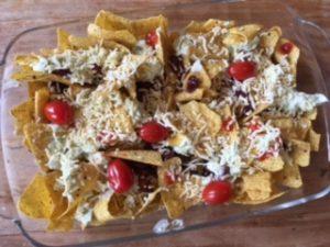 Glutenvrije nacho's
