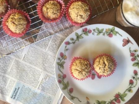 Ontbijtmuffins van Teffpap met appel