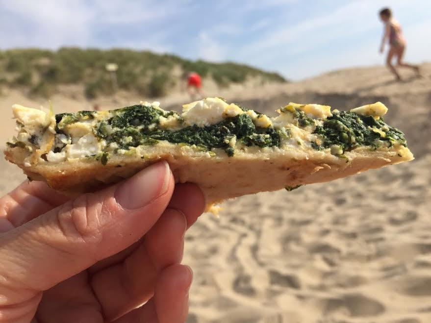 glutenvrije spinazietaart
