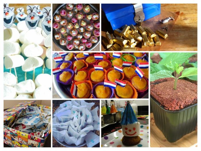 glutenvrije verjaardagstraktaties