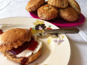 glutenvrije buttermilk scones