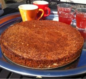 Glutenvrije Amandelmeel-Polenta Cake