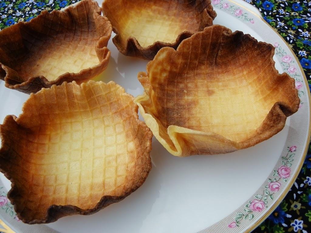 glutenvrije ijswafelbakjes