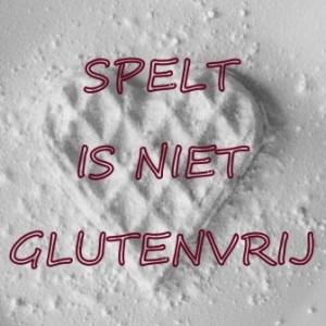 Spelt is NIET glutenvrij!!!