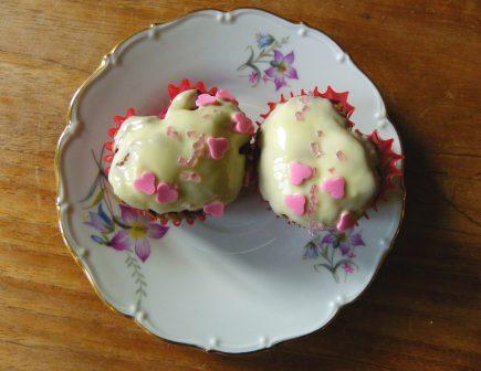 Hartjes cupcake