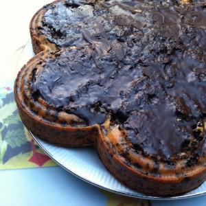 Glutenvrije chocoladecake van Ruf