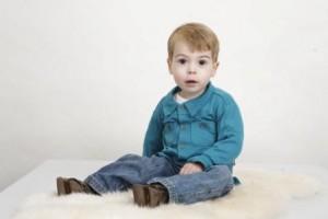 Alexander twee jaar, 5 dagen voor zijn biopt.