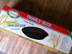 Lasagna Rizopia