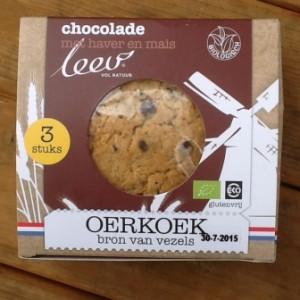 Leev chocolade haver koek