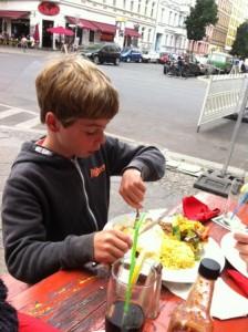 Mexicaans eten in de Bergmannstrasse