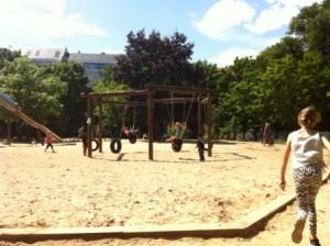 Speeltuin op Arkonaplatz