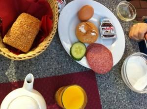 Glutenvrij ontbijt in Landhotel Dresden