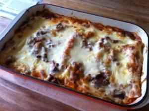 Glutenvrije lasagne