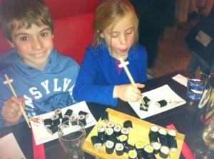 Glutenvrije sushi bij Shabu Shabu