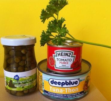 tonijnsalade met tomaat en peterselie1