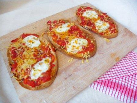 Glutenvrije pita pizza