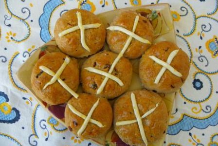 Glutenvrije Hot Cross Buns