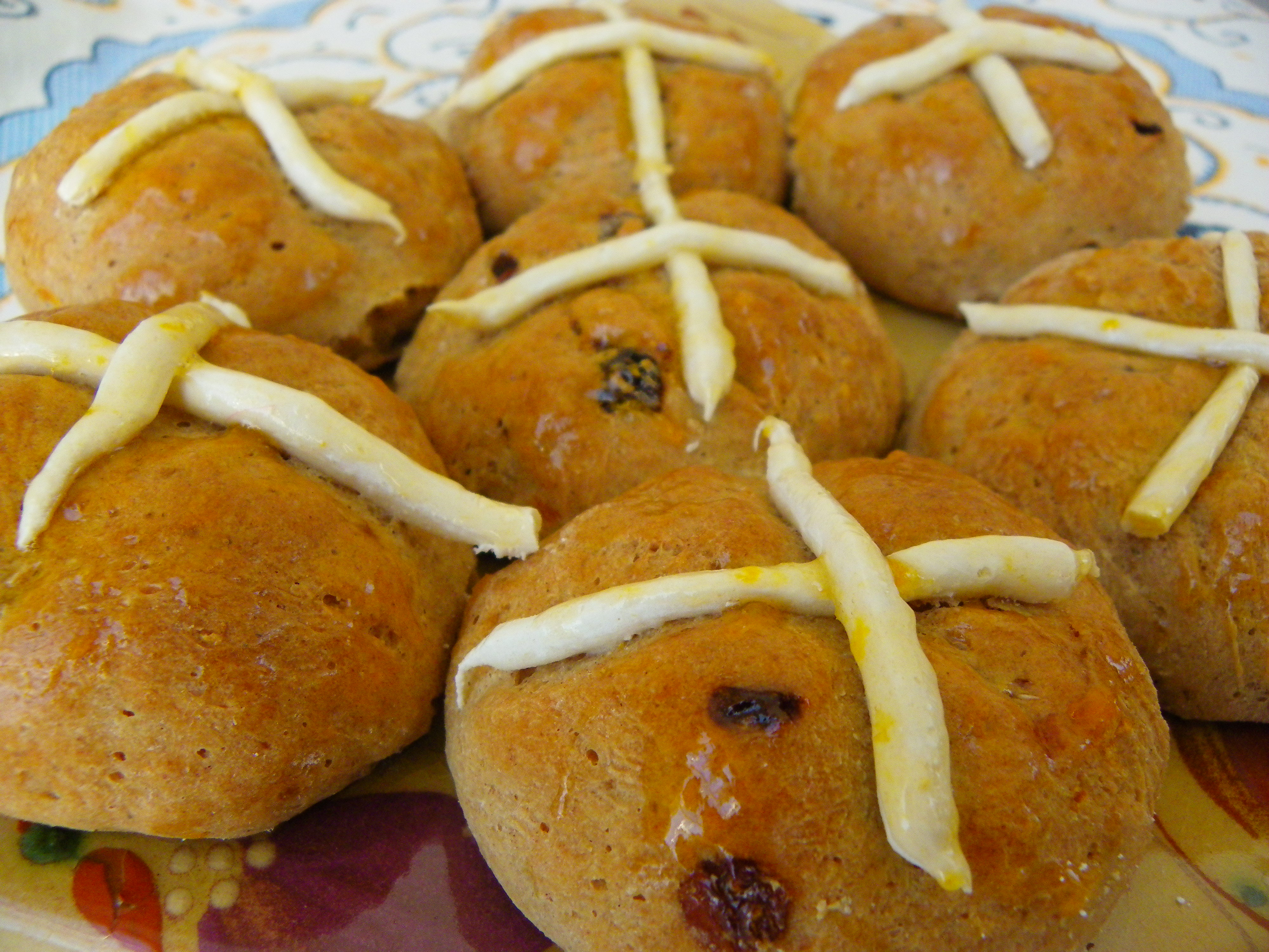 Glutenvrije Hot Cross Buns
