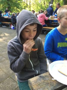 glutenvrij op turnkamp 4
