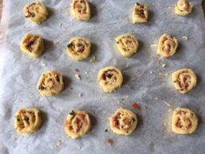 Glutenvrije ham kaas snacks (4)