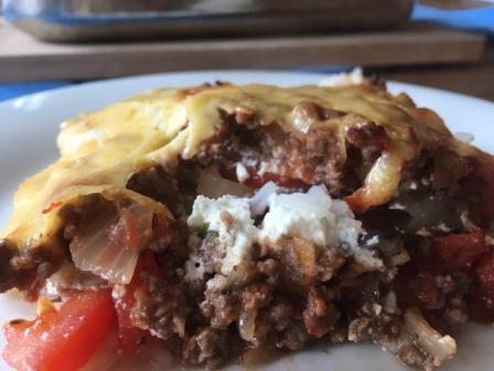 Glutenvrije makkelijke moussaka (4)