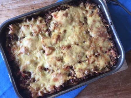 Glutenvrije makkelijke moussaka (5)