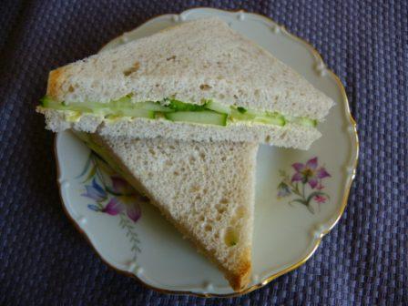 glutenvrije cucumber sandwiches