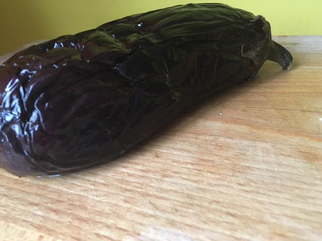 de geroosterde aubergine