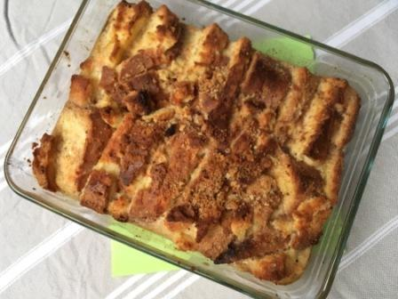 Glutenvrije Bread and Butter Pudding