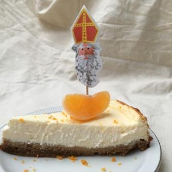 mandarijncheesecake met speculaas