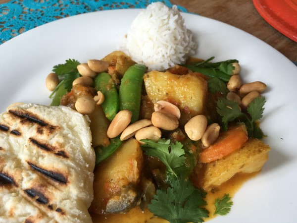 glutenvrije Massaman curry