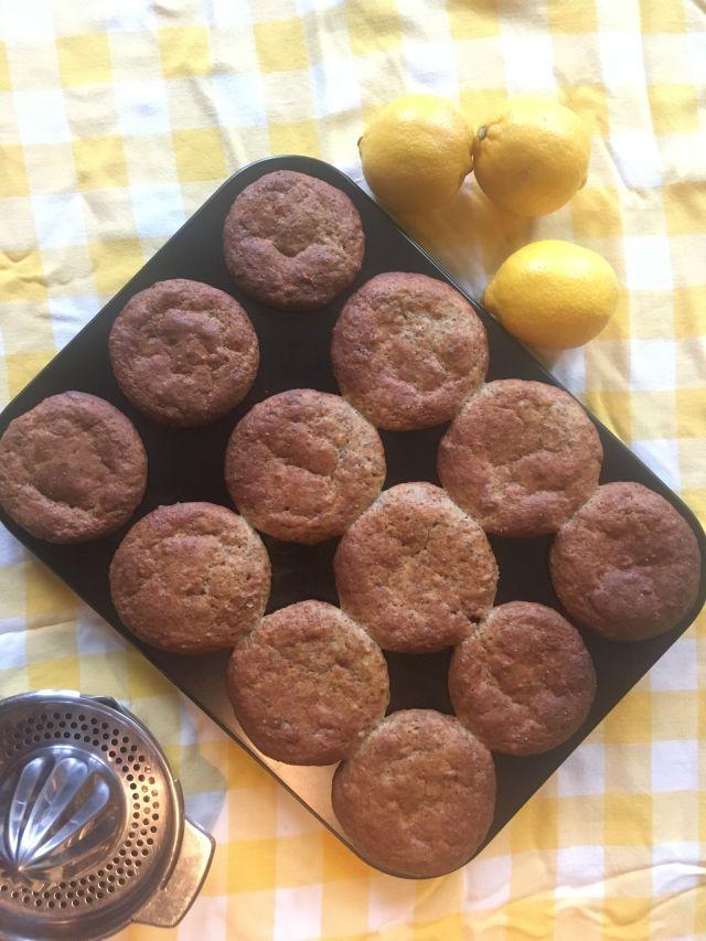 lemoncheesecake maanzaadmuffins