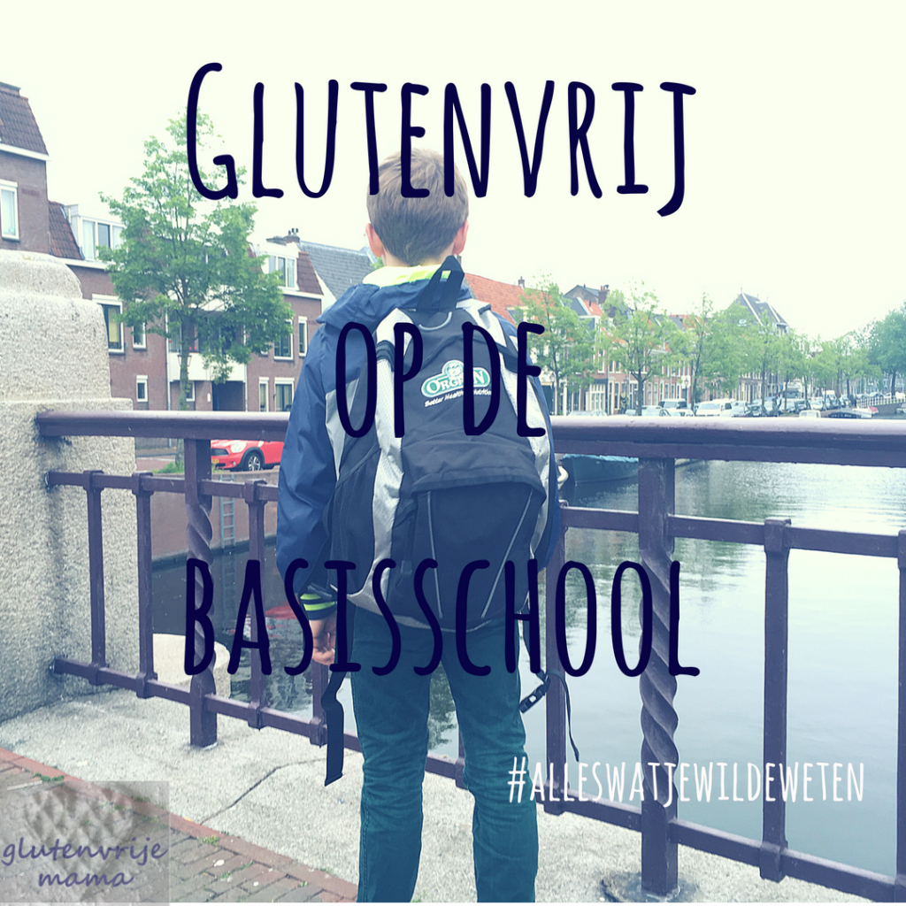 Glutenvrij op de basisschool