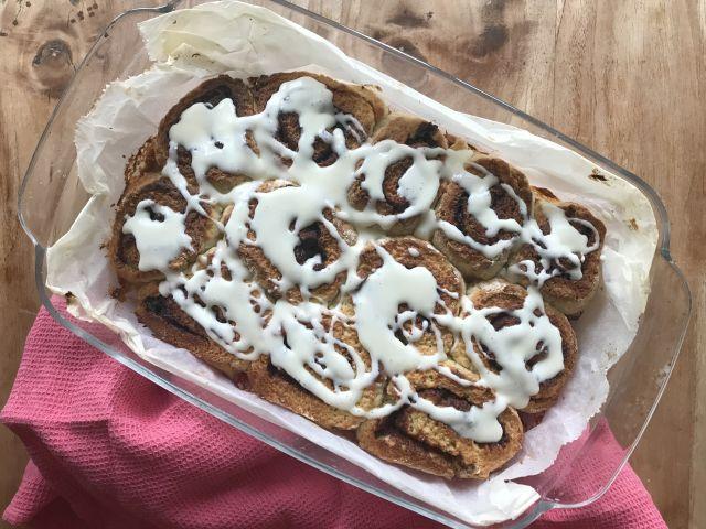 Glutenvrije kaneelbroodjes