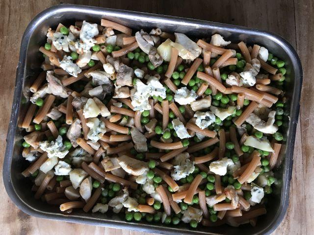 glutenvrije ovenschotel met pasta en kip