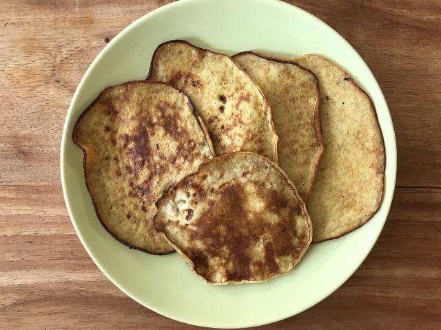 Glutenvrije banaanpannenkoekjes