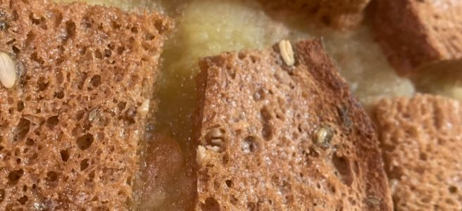 glutenvrij appelmoesschoteltje